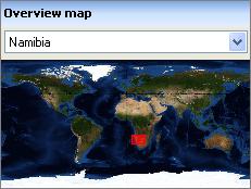 Dapple overview map
